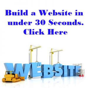 Build Website in 30 Seconds